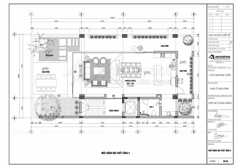 Thiết kế Nhà Mặt Phố tại Hà Nội Nhà Ở 5 Tầng Kết Hợp Văn Phòng Cho Thuê Diện Tích 10×20m 1589872779 19
