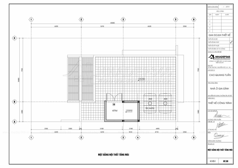 Thiết kế Nhà Mặt Phố tại Hà Nội Nhà Ở 5 Tầng Kết Hợp Văn Phòng Cho Thuê Diện Tích 10×20m 1589872780 23