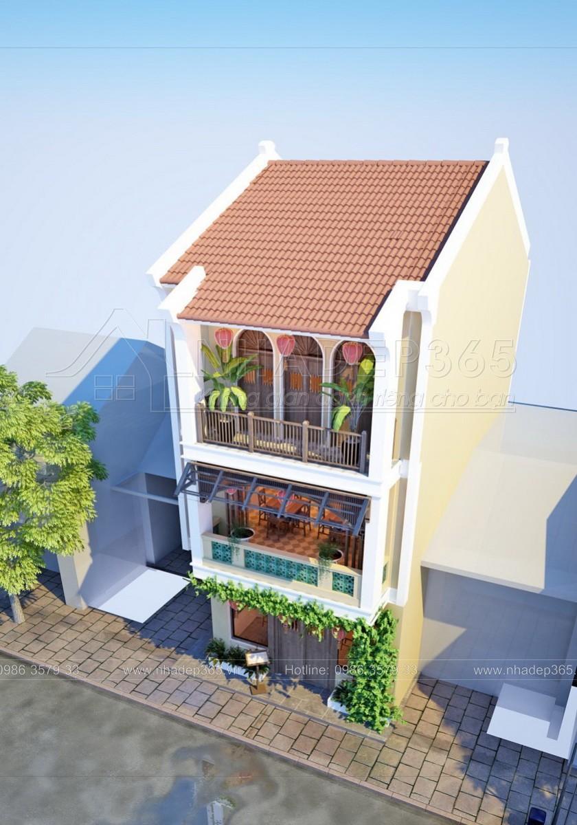 thiết kế nội thất Nhà Mặt Phố tại Quảng Nam Thiết kế Nhà hàng Hội An- 43 Trần Cao Vân- Hội An 1 1554198029
