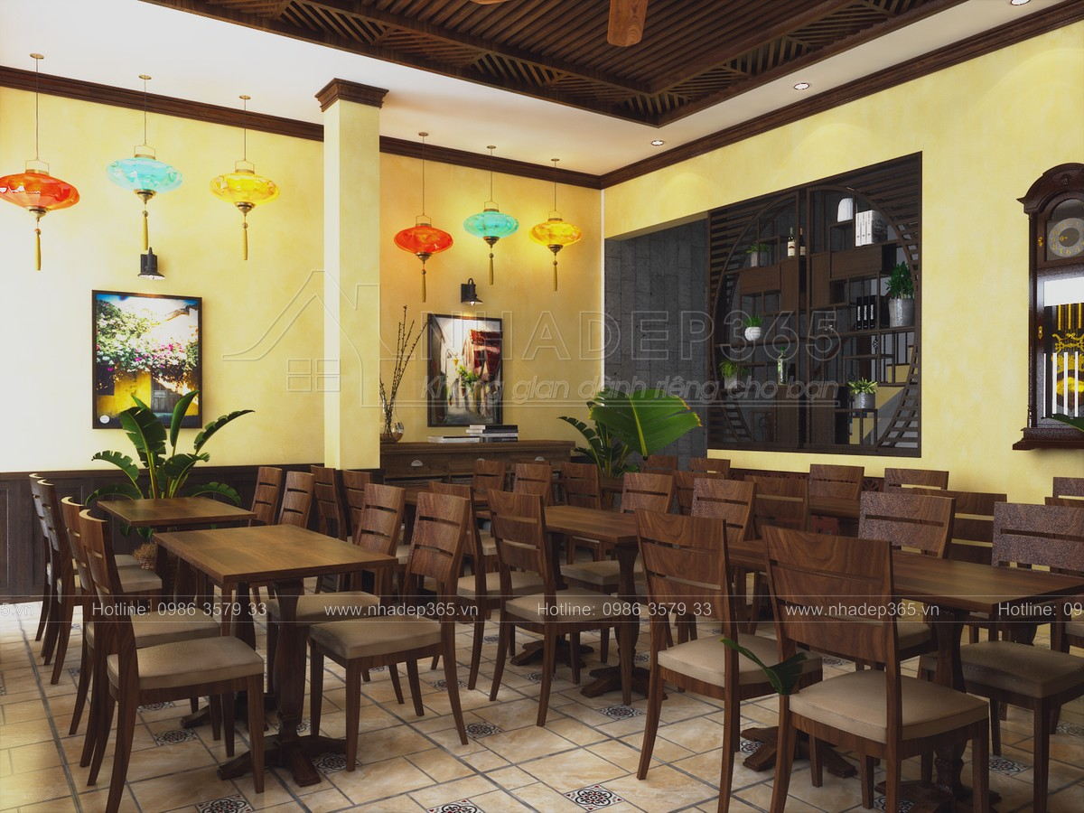 thiết kế nội thất Nhà Mặt Phố tại Quảng Nam Thiết kế Nhà hàng Hội An- 43 Trần Cao Vân- Hội An 4 1554198029