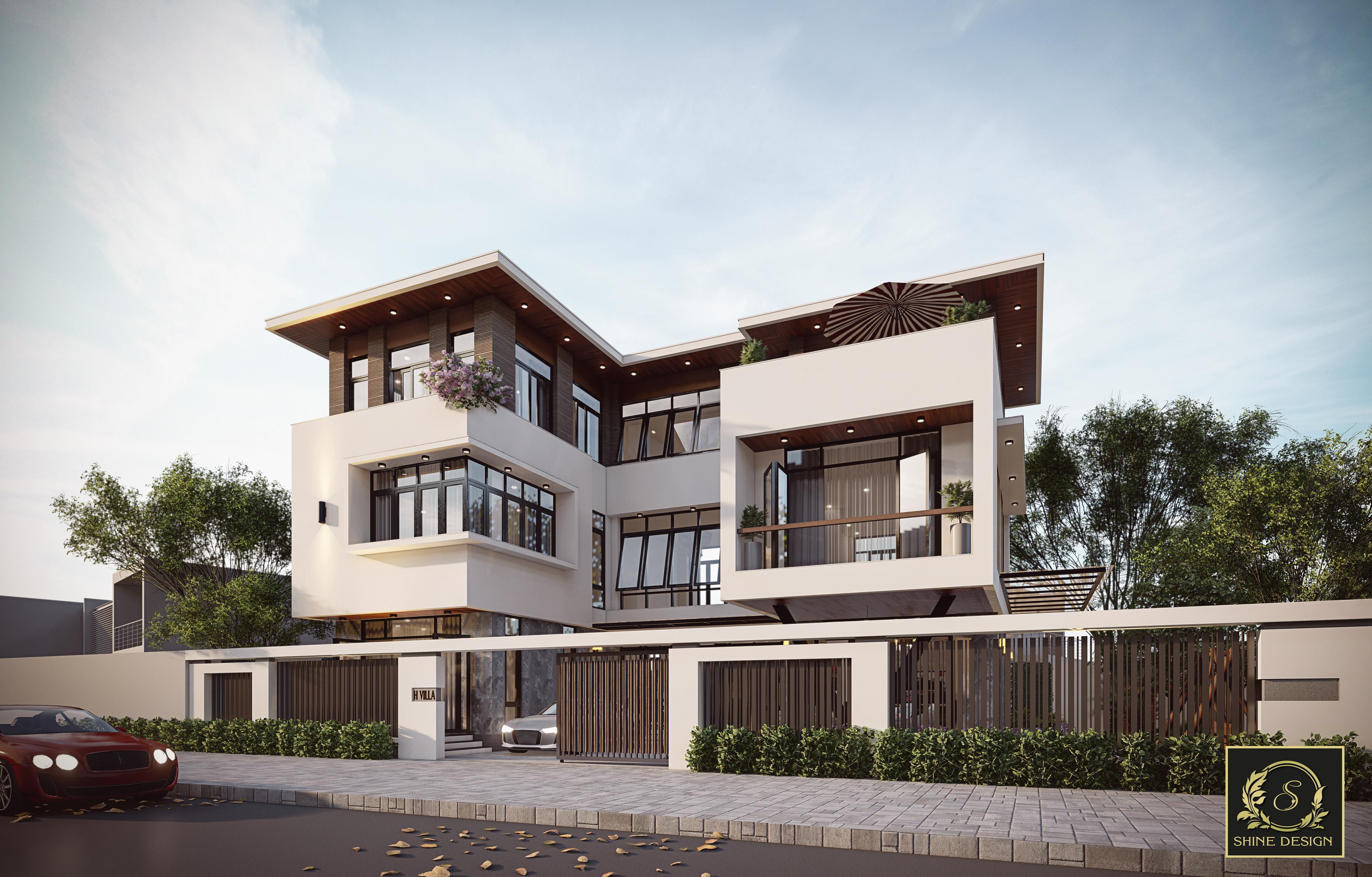 Thiết kế Biệt Thự tại Thanh Hóa H Villa 1576576837 0