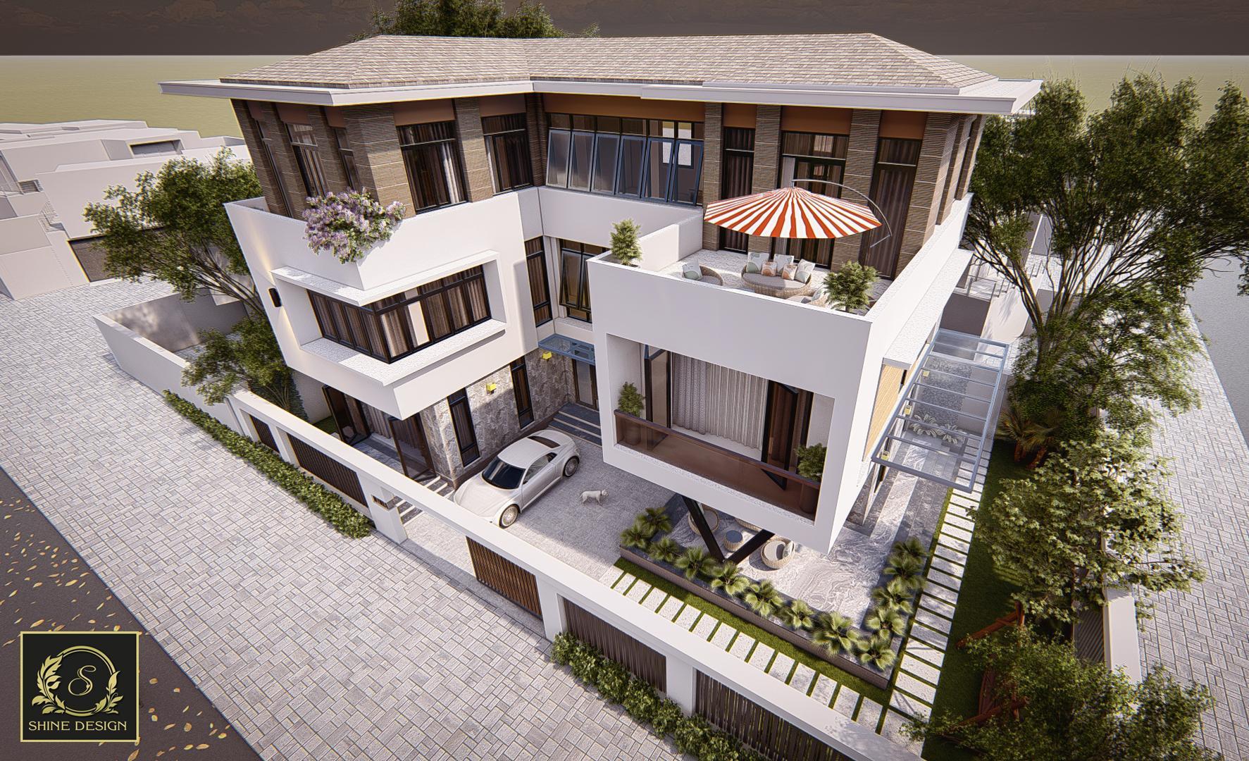 Thiết kế Biệt Thự tại Thanh Hóa H Villa 1576576838 3