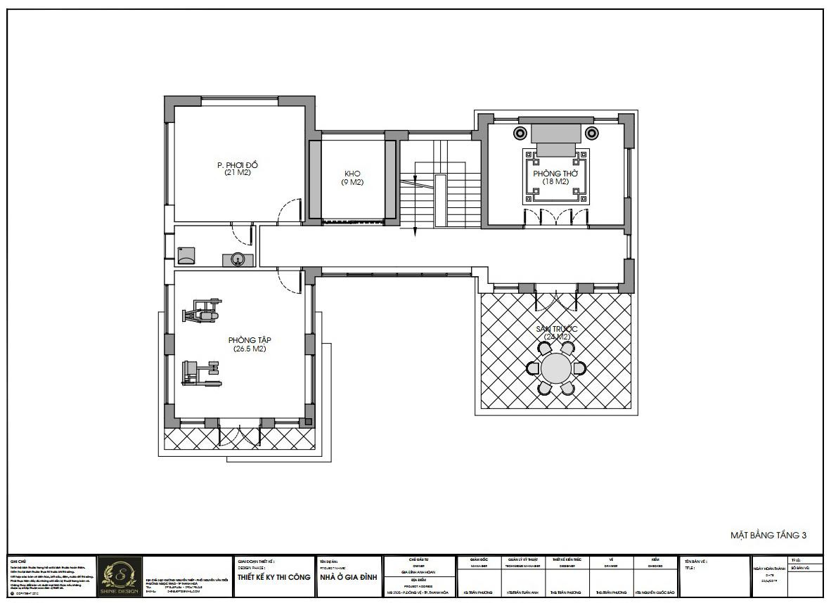 Thiết kế Biệt Thự tại Thanh Hóa H Villa 1576576838 6