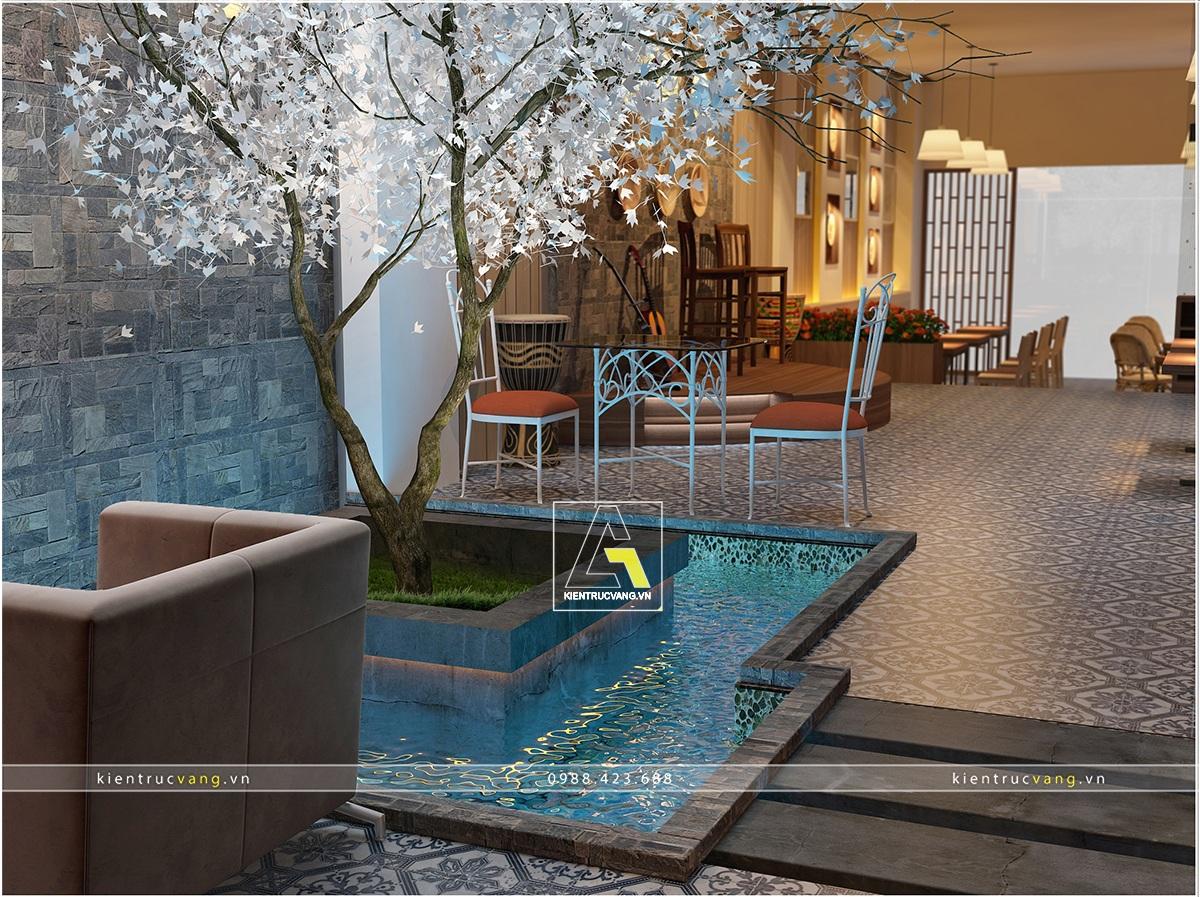 thiết kế nội thất Cafe tại Thái Nguyên Thiết kế nội thất quán cafe Thái Nguyên 5 1530871473