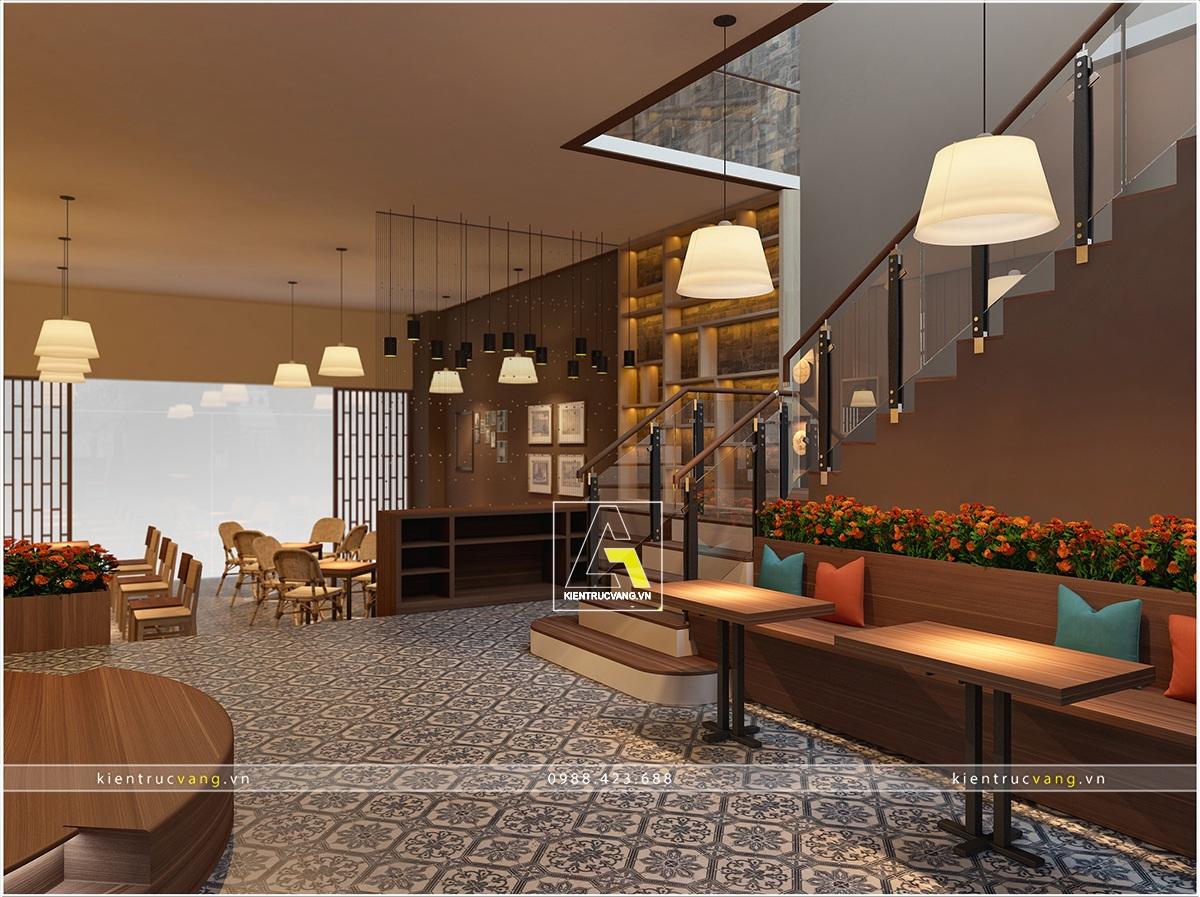 thiết kế nội thất Cafe tại Thái Nguyên Thiết kế nội thất quán cafe Thái Nguyên 6 1530871473