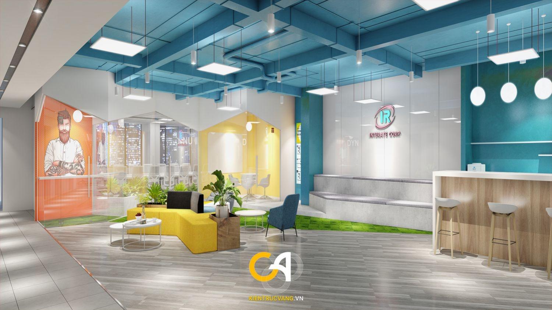 Thiết kế nội thất Văn Phòng tại Đà Nẵng Thiết kế thi công nội thất văn phòng Interate tại Đà Thành 1619683369 1
