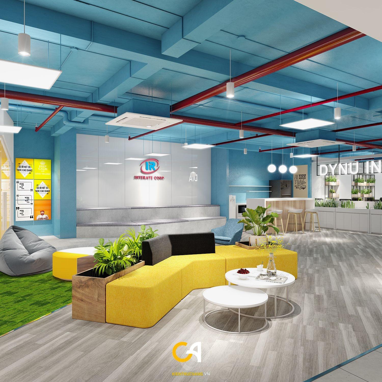 Thiết kế nội thất Văn Phòng tại Đà Nẵng Thiết kế thi công nội thất văn phòng Interate tại Đà Thành 1619683370 2