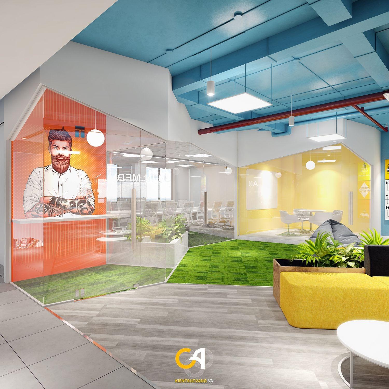 Thiết kế nội thất Văn Phòng tại Đà Nẵng Thiết kế thi công nội thất văn phòng Interate tại Đà Thành 1619683370 3