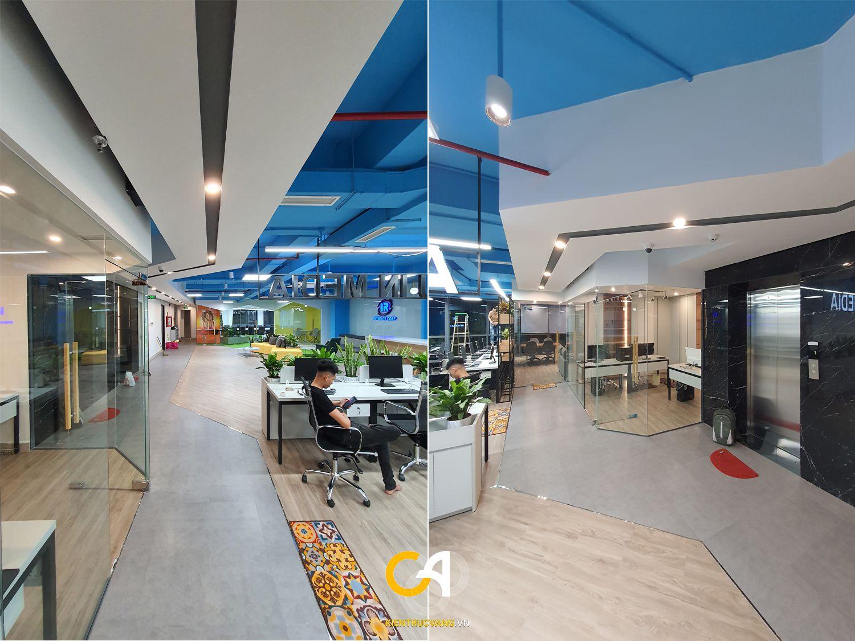 Thiết kế nội thất Văn Phòng tại Đà Nẵng Thiết kế thi công nội thất văn phòng Interate tại Đà Thành 1619683370 5