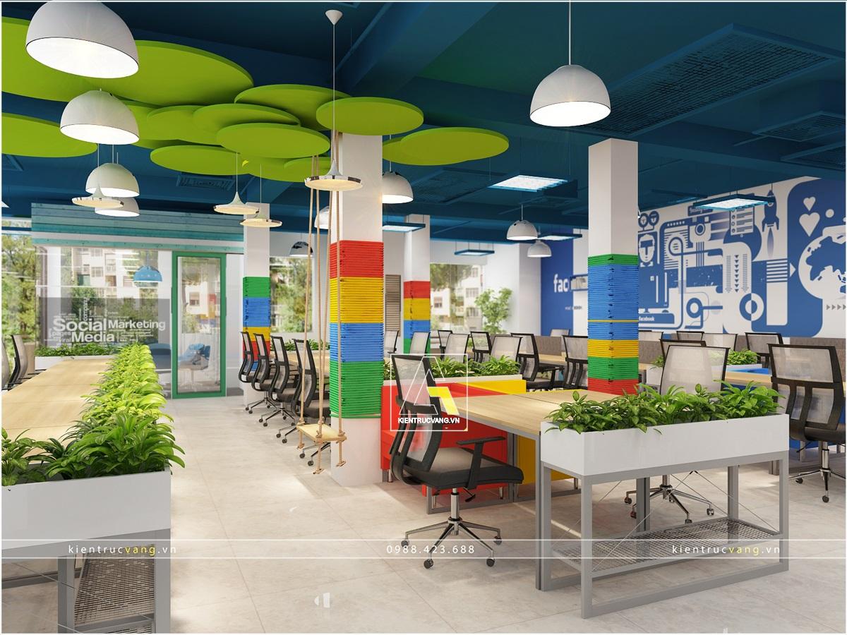 thiết kế nội thất Văn Phòng tại Hà Nội Thiết kế nội thất văn phòng Adcoffee cơ sở 2 Hà Nội 0 1530874037