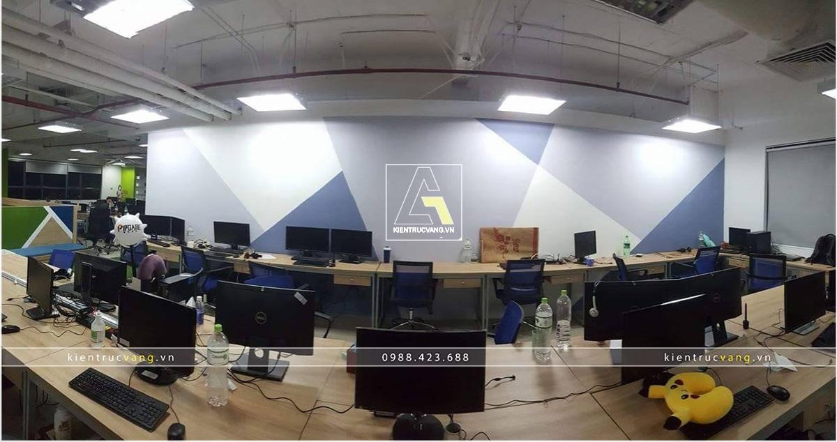 thiết kế nội thất Văn Phòng tại Hà Nội Thiết kế nội thất văn phòng VTC Mobile Hà Nội 11 1530872949