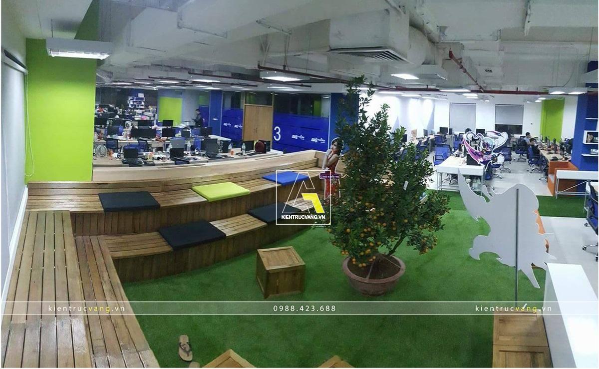 thiết kế nội thất Văn Phòng tại Hà Nội Thiết kế nội thất văn phòng VTC Mobile Hà Nội 12 1530872948