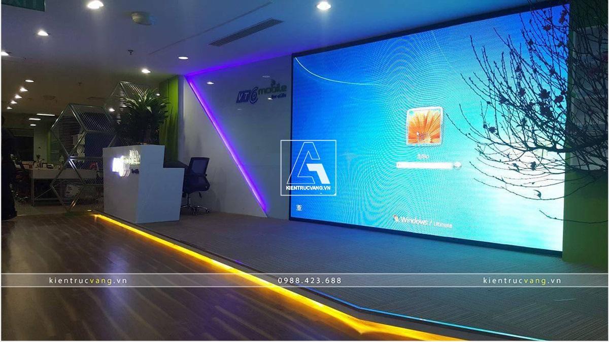 thiết kế nội thất Văn Phòng tại Hà Nội Thiết kế nội thất văn phòng VTC Mobile Hà Nội 13 1530872948