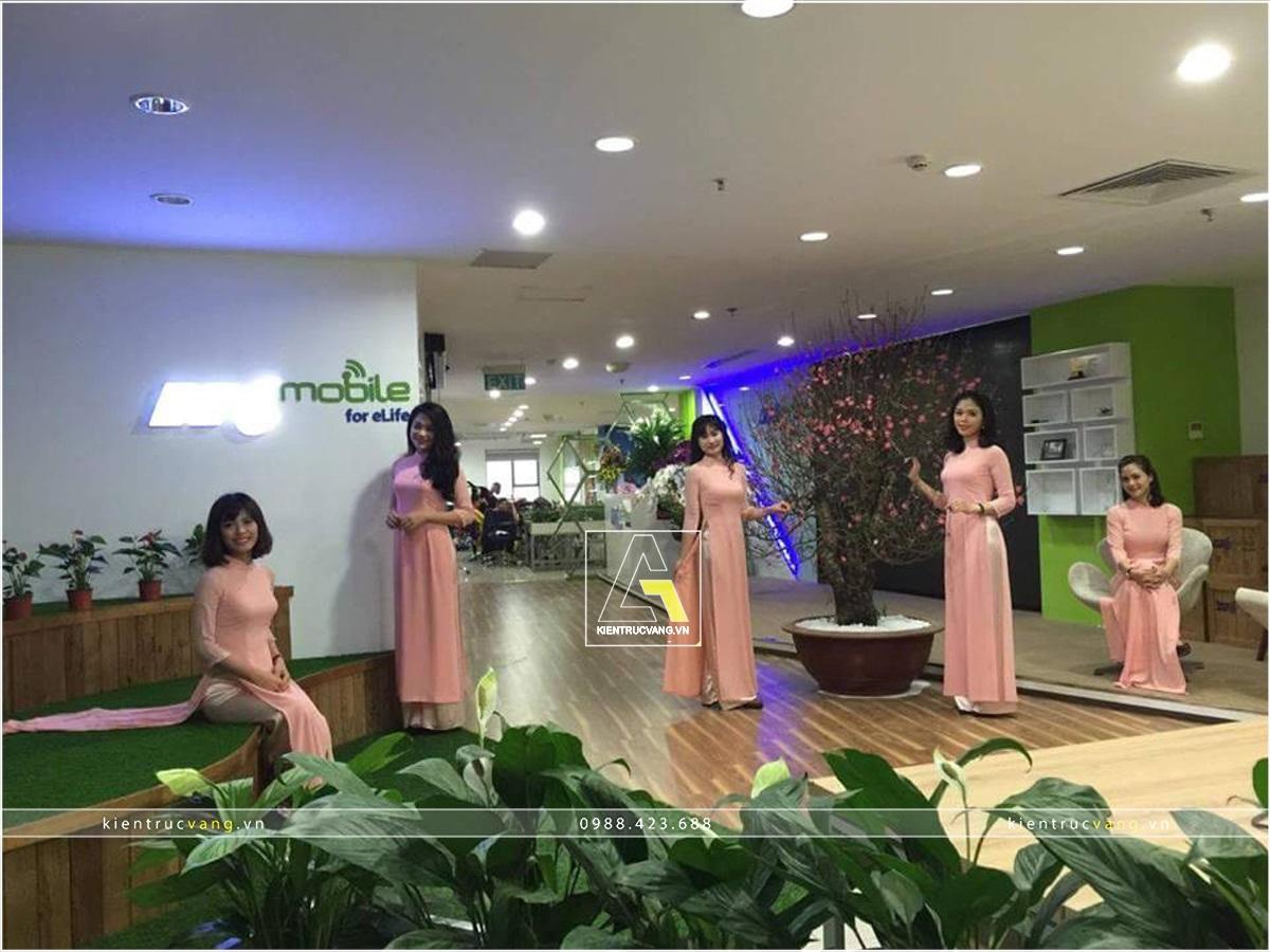 thiết kế nội thất Văn Phòng tại Hà Nội Thiết kế nội thất văn phòng VTC Mobile Hà Nội 15 1530872952