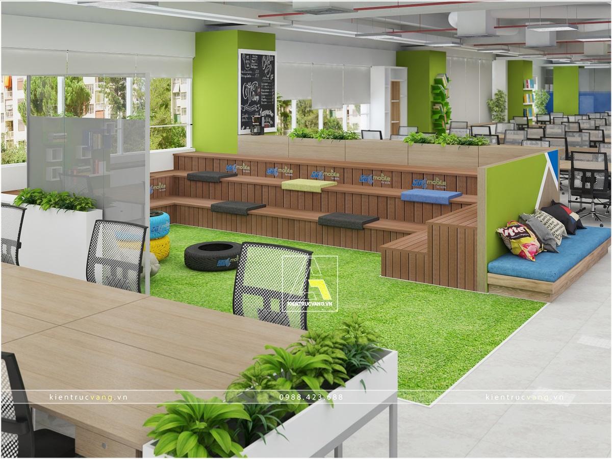 thiết kế nội thất Văn Phòng tại Hà Nội Thiết kế nội thất văn phòng VTC Mobile Hà Nội 20 1530872955