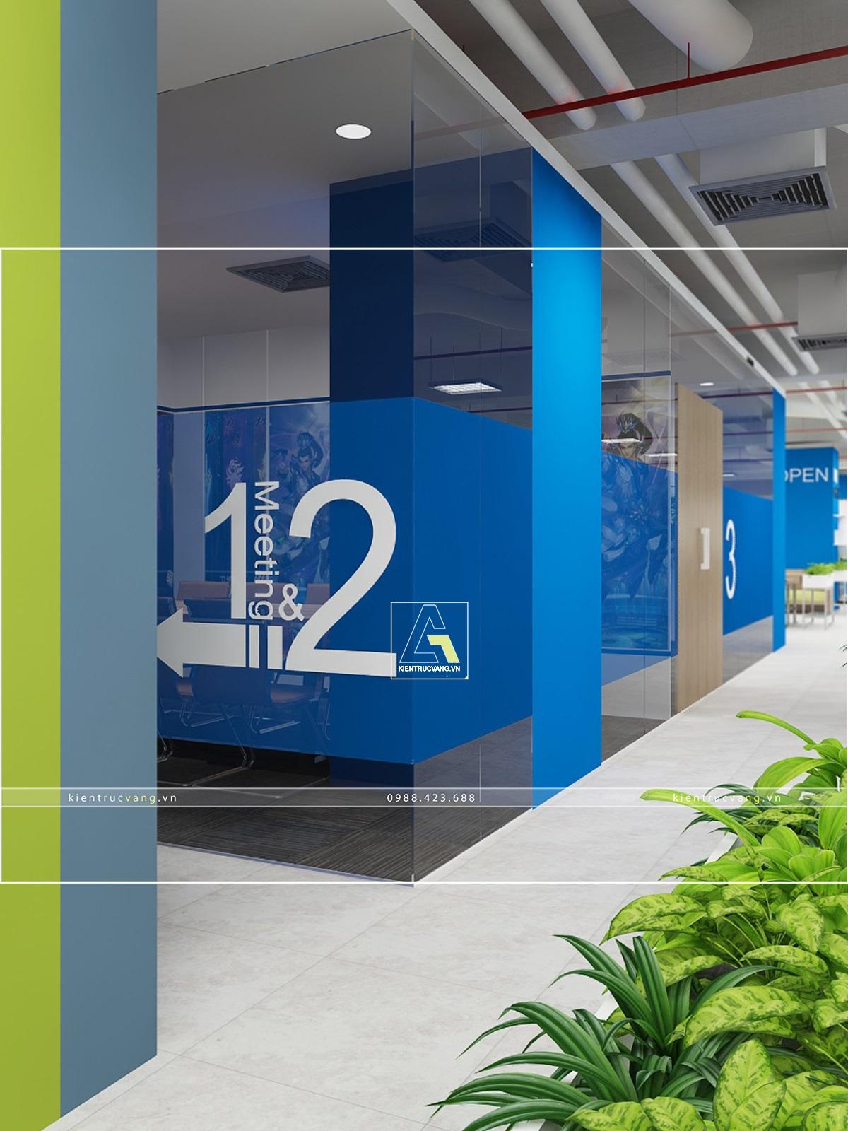 thiết kế nội thất Văn Phòng tại Hà Nội Thiết kế nội thất văn phòng VTC Mobile Hà Nội 21 1530872964