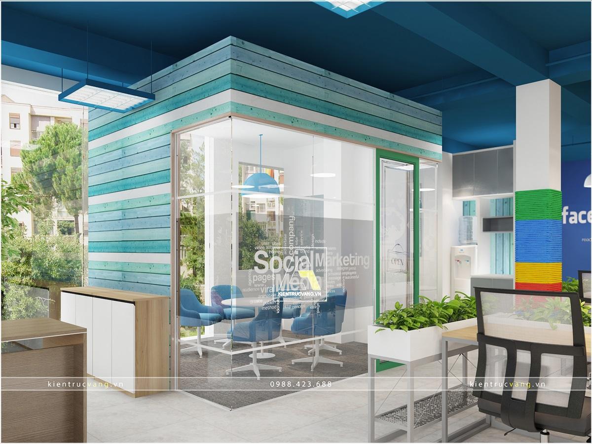 thiết kế nội thất Văn Phòng tại Hà Nội Thiết kế nội thất văn phòng Adcoffee cơ sở 2 Hà Nội 2 1530874038