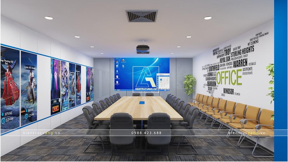 thiết kế nội thất Văn Phòng tại Hà Nội Thiết kế nội thất văn phòng VTC Mobile Hà Nội 22 1530872963