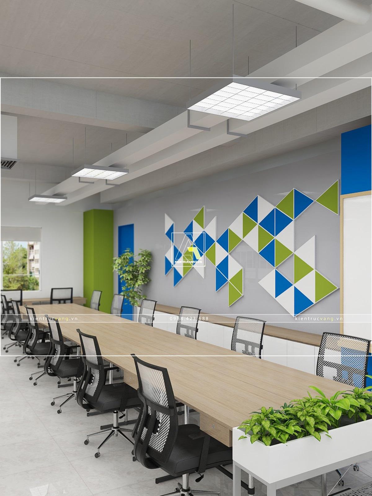 thiết kế nội thất Văn Phòng tại Hà Nội Thiết kế nội thất văn phòng VTC Mobile Hà Nội 27 1530872960