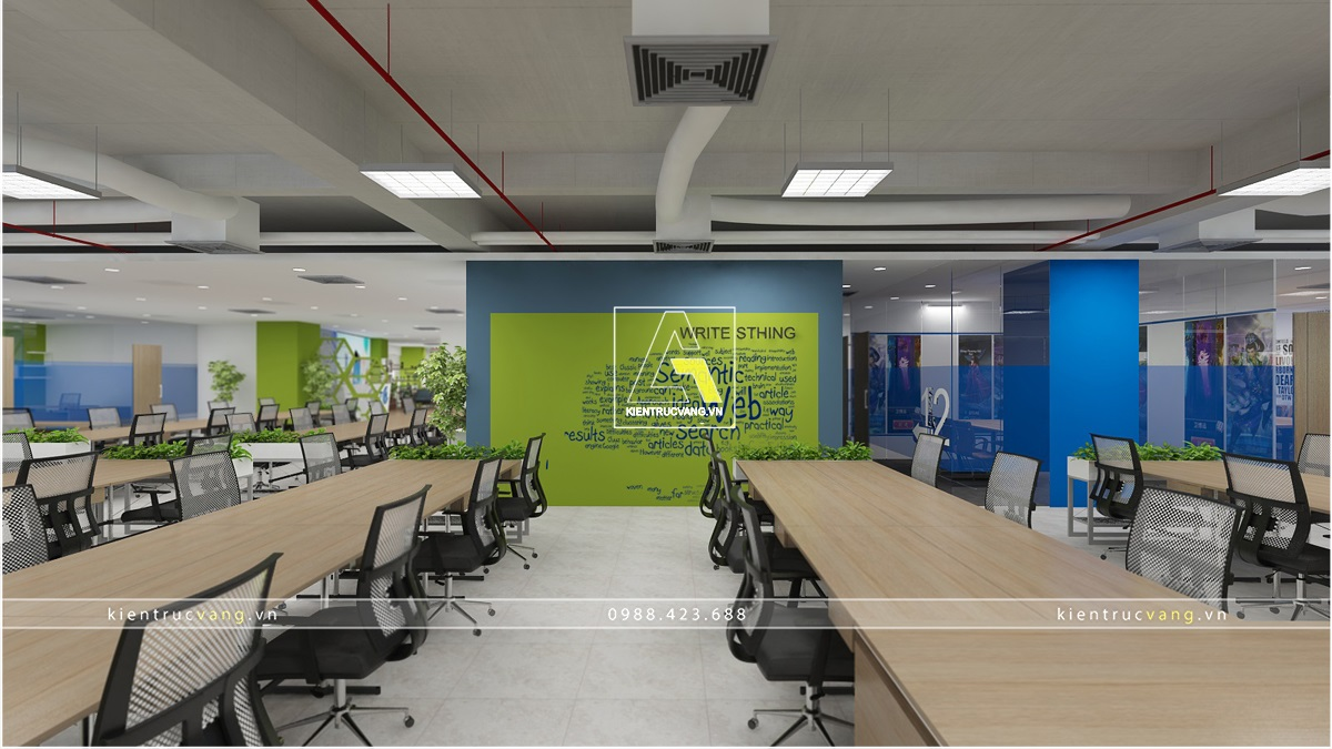 thiết kế nội thất Văn Phòng tại Hà Nội Thiết kế nội thất văn phòng VTC Mobile Hà Nội 28 1530872961