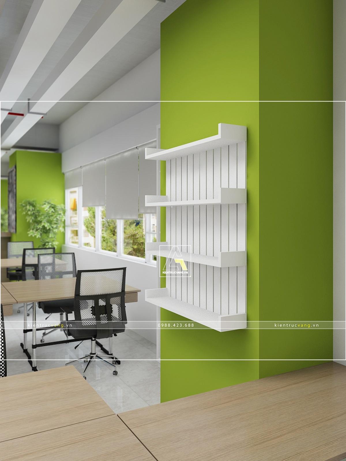 thiết kế nội thất Văn Phòng tại Hà Nội Thiết kế nội thất văn phòng VTC Mobile Hà Nội 30 1530872969