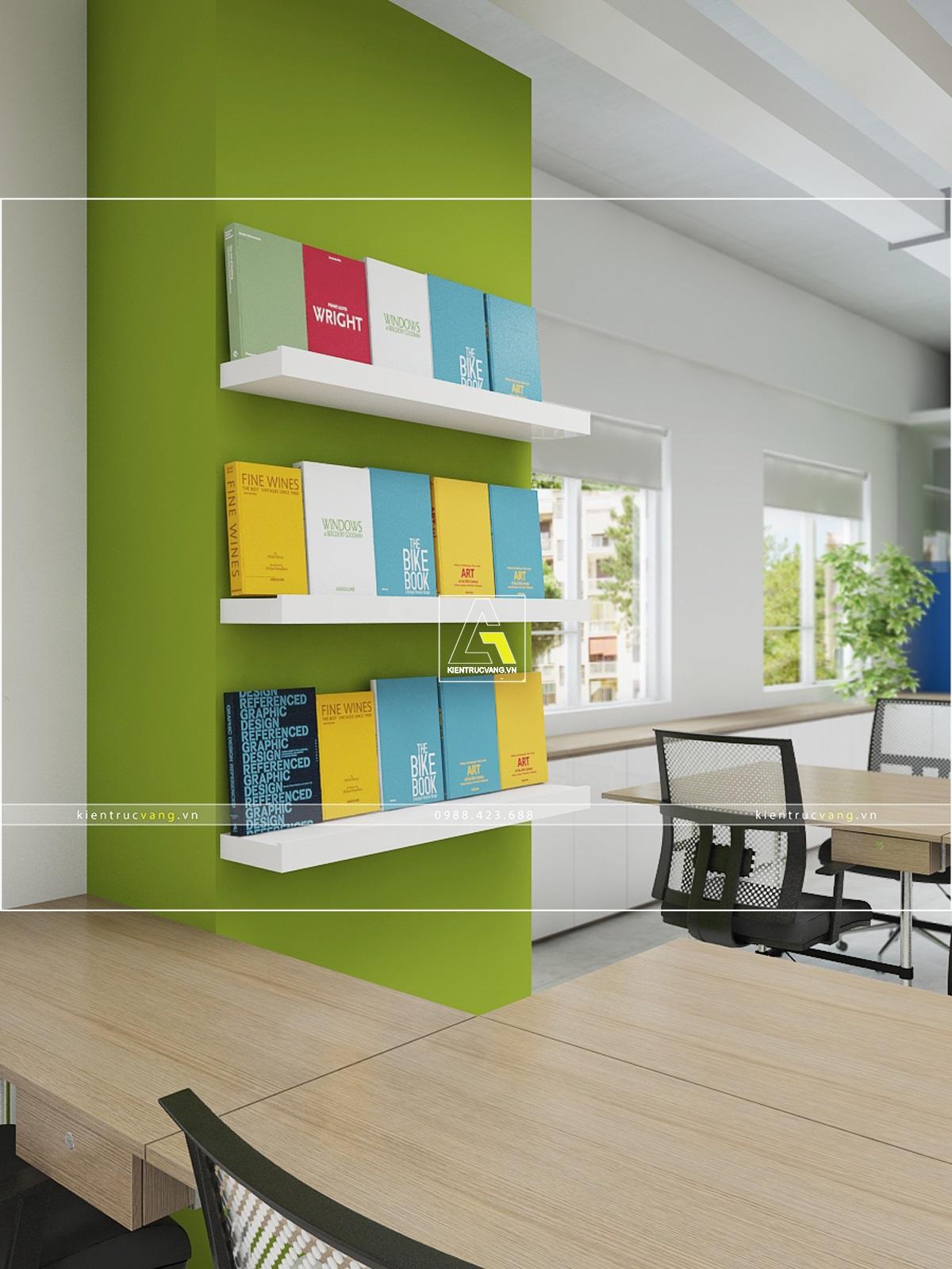 thiết kế nội thất Văn Phòng tại Hà Nội Thiết kế nội thất văn phòng VTC Mobile Hà Nội 31 1530872966
