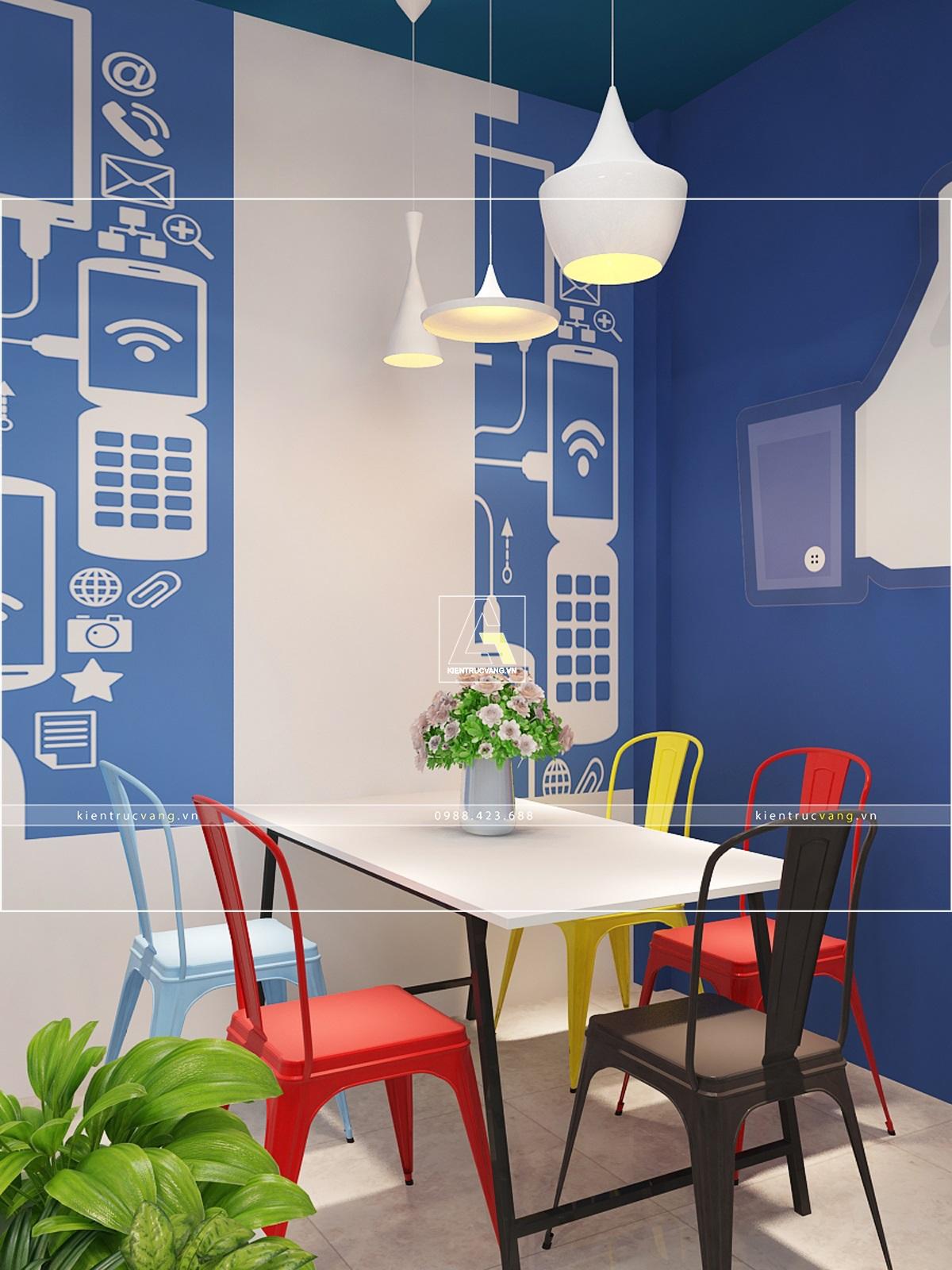thiết kế nội thất Văn Phòng tại Hà Nội Thiết kế nội thất văn phòng Adcoffee cơ sở 2 Hà Nội 3 1530874039