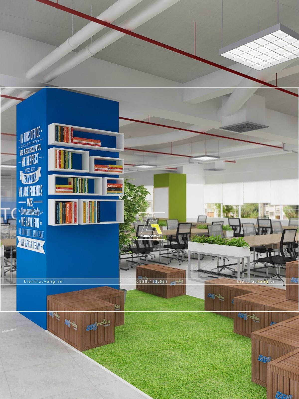 thiết kế nội thất Văn Phòng tại Hà Nội Thiết kế nội thất văn phòng VTC Mobile Hà Nội 33 1530872967