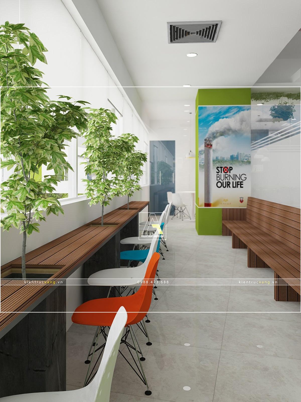 thiết kế nội thất Văn Phòng tại Hà Nội Thiết kế nội thất văn phòng VTC Mobile Hà Nội 34 1530872968