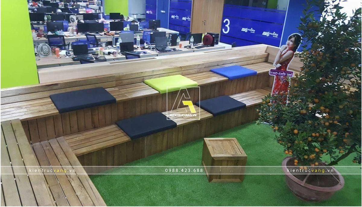 thiết kế nội thất Văn Phòng tại Hà Nội Thiết kế nội thất văn phòng VTC Mobile Hà Nội 7 1530872953