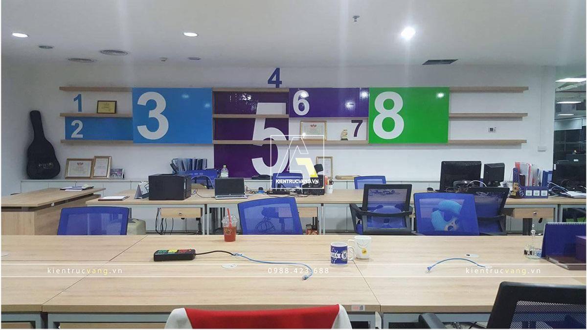 thiết kế nội thất Văn Phòng tại Hà Nội Thiết kế nội thất văn phòng VTC Mobile Hà Nội 9 1530872946