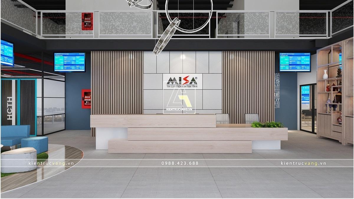 thiết kế nội thất Văn Phòng tại Hồ Chí Minh Thiết kế nội thất văn phòng Misa Hồ Chính Minh 11 1530873735
