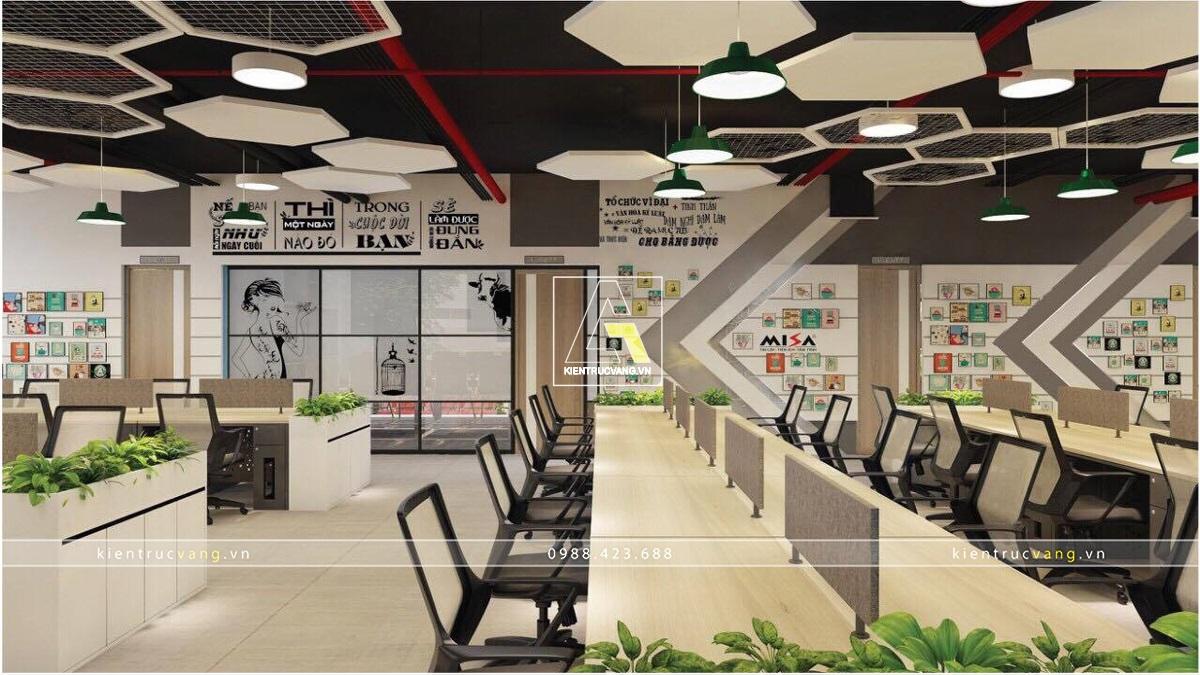 thiết kế nội thất Văn Phòng tại Hồ Chí Minh Thiết kế nội thất văn phòng Misa Hồ Chính Minh 22 1530873740