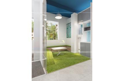 Thiết kế nội thất văn phòng Adcoffee cơ sở 2 Hà Nội