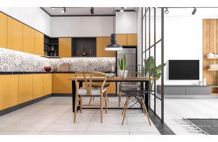 Thiết kế kiến trúc và nội thất nhà Cấp 4 Nhất House