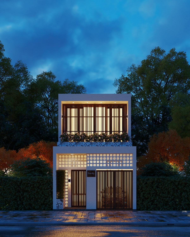 Thiết kế Nhà Mặt Phố tại Kiên Giang Nhà phố Kiên Giang 1589873432 3