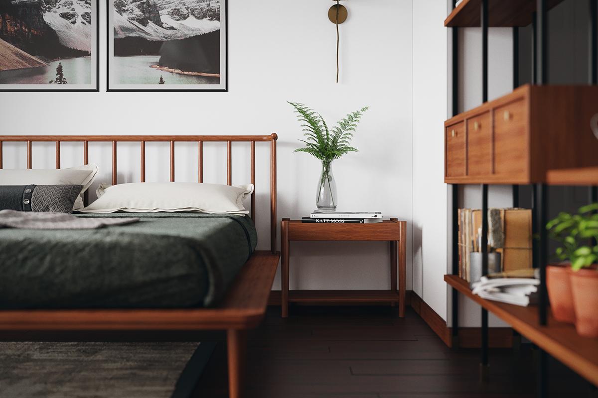 thiết kế nội thất chung cư tại Hồ Chí Minh Grandma room 0 1535514529