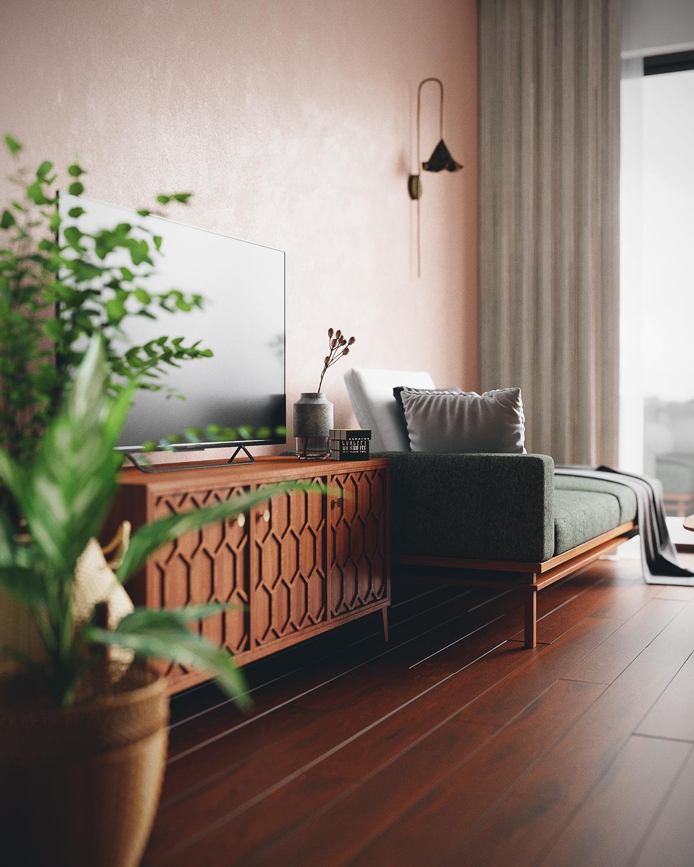 thiết kế nội thất chung cư tại Hồ Chí Minh Grandma room 2 1535514545