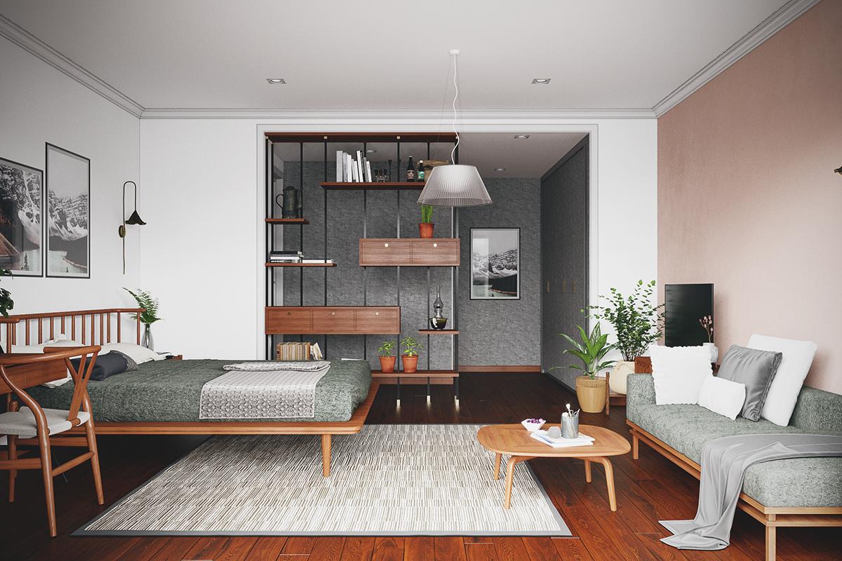 thiết kế nội thất chung cư tại Hồ Chí Minh Grandma room 3 1535514536