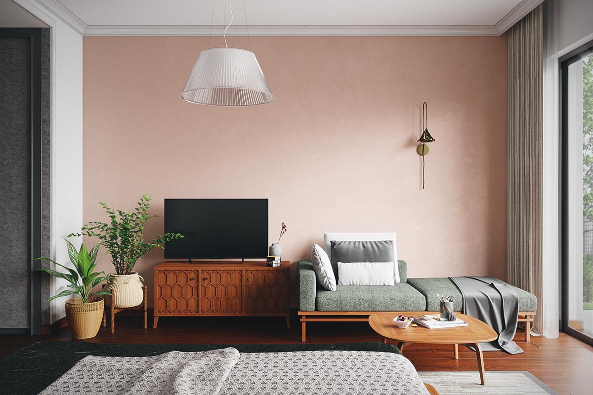 thiết kế nội thất chung cư tại Hồ Chí Minh Grandma room 4 1535514535