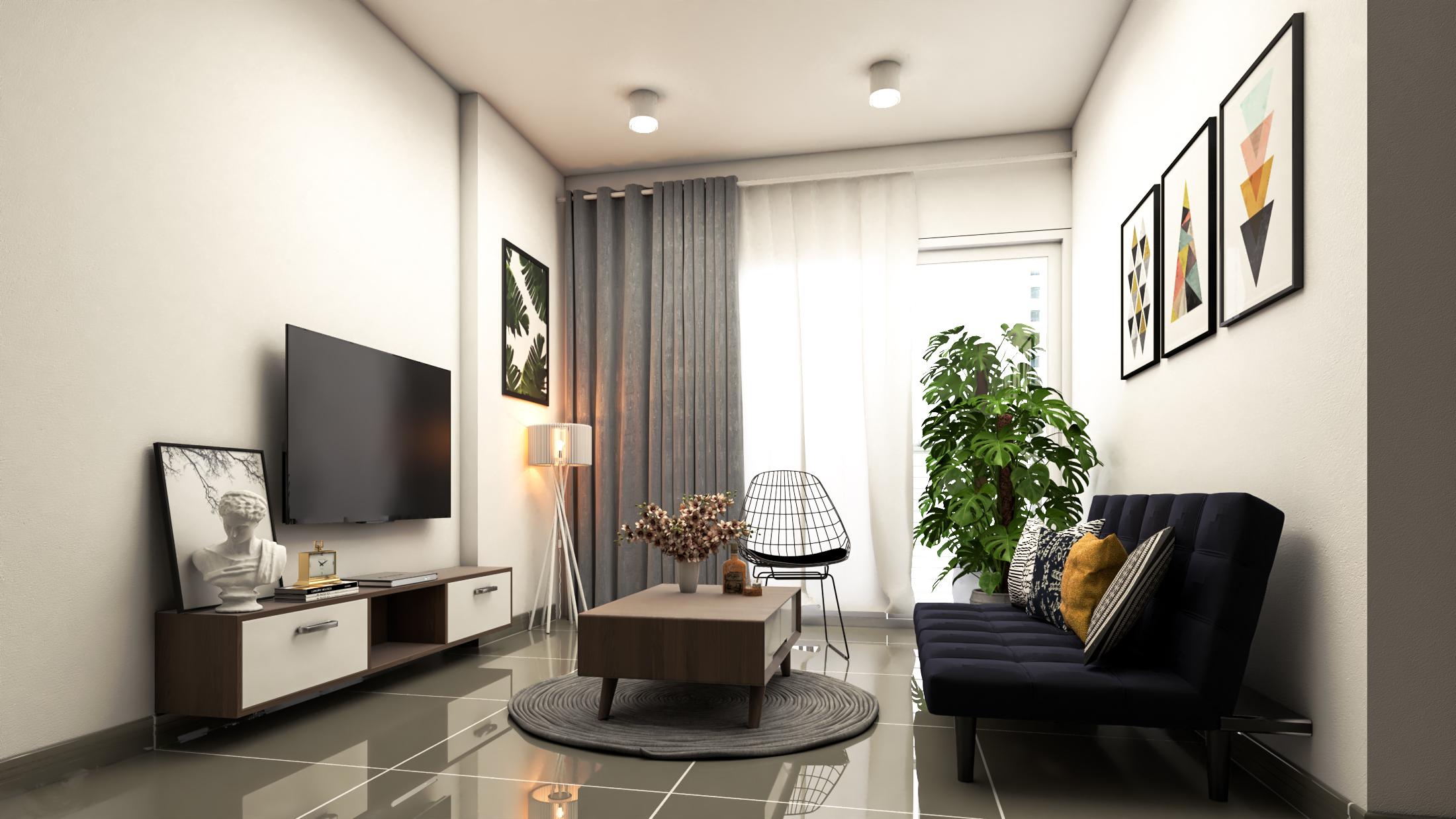 Thiết kế nội thất Chung Cư tại Hồ Chí Minh CĂN HỘ CHỊ TRÚC Q8 1576045379 1