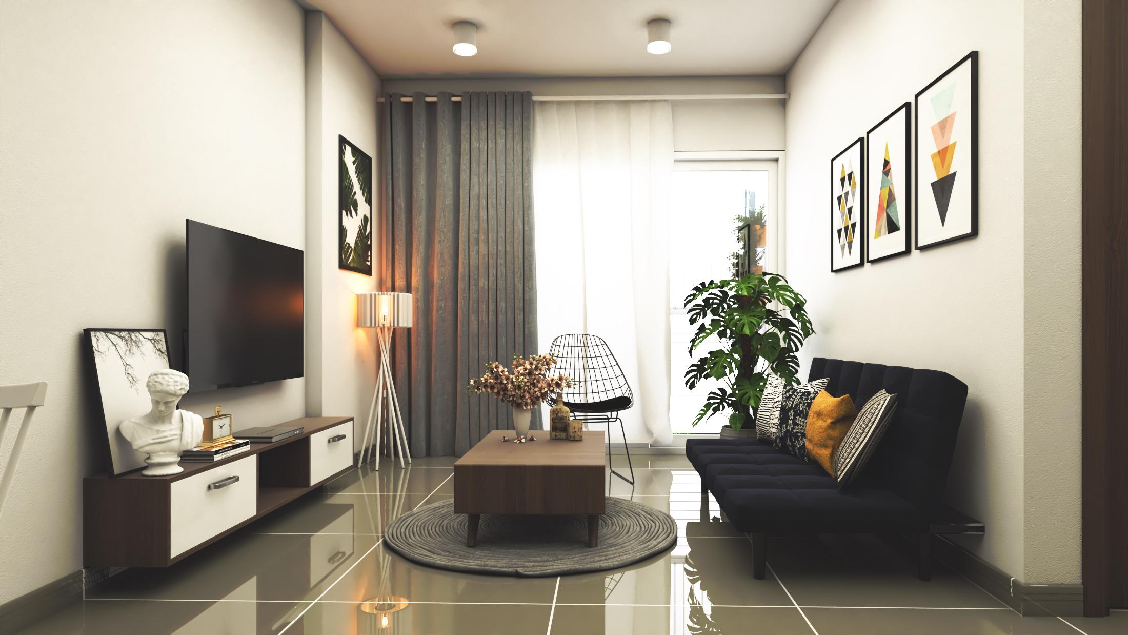 Thiết kế nội thất Chung Cư tại Hồ Chí Minh CĂN HỘ CHỊ TRÚC Q8 1576045379 6