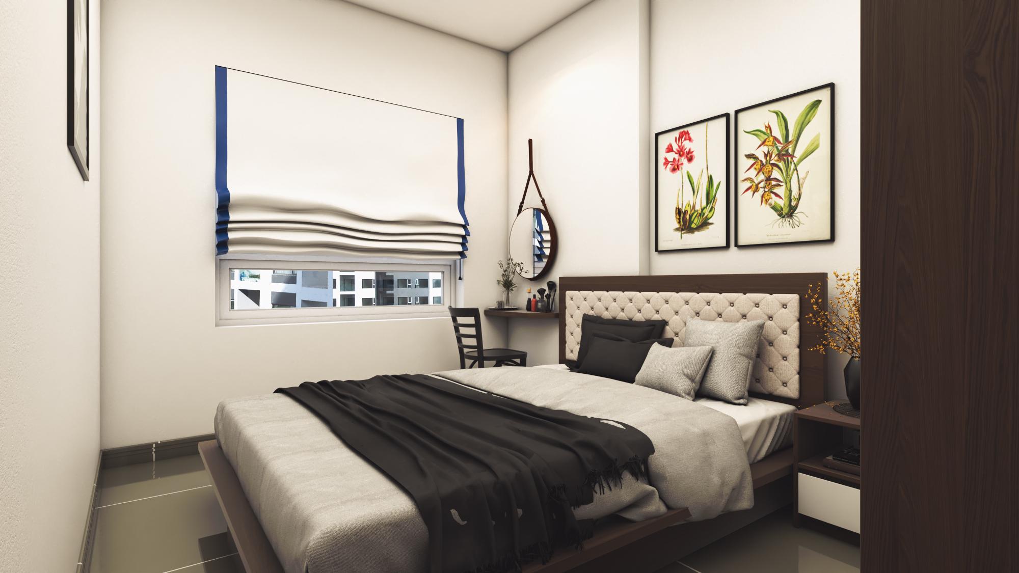 Thiết kế nội thất Chung Cư tại Hồ Chí Minh CĂN HỘ CHỊ TRÚC Q8 1576045380 15