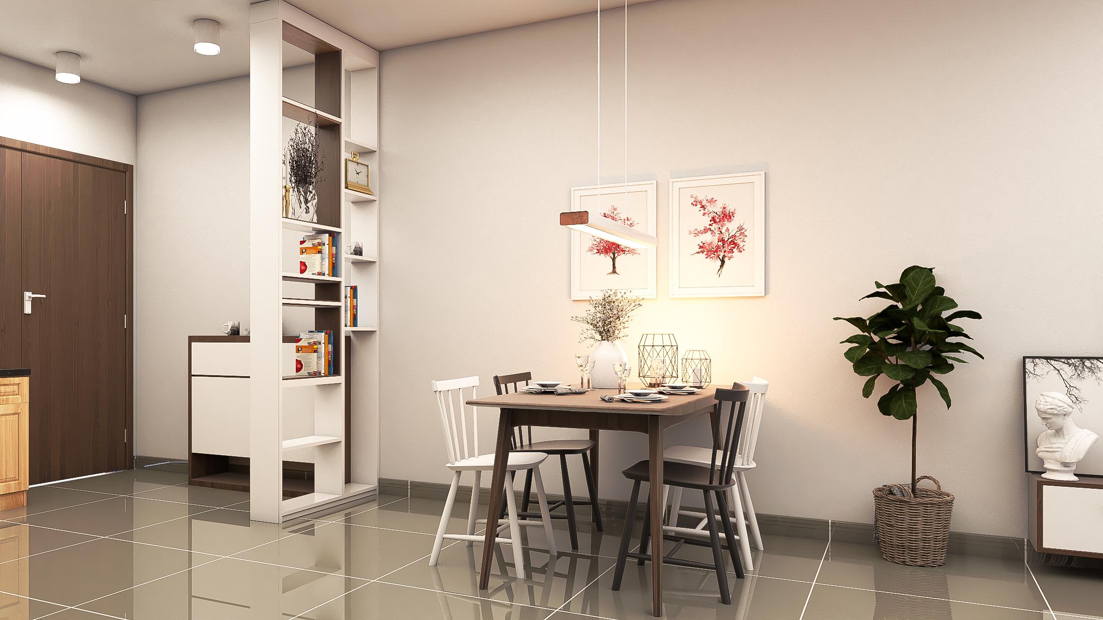 Thiết kế nội thất Chung Cư tại Hồ Chí Minh CĂN HỘ CHỊ TRÚC Q8 1576045380 8