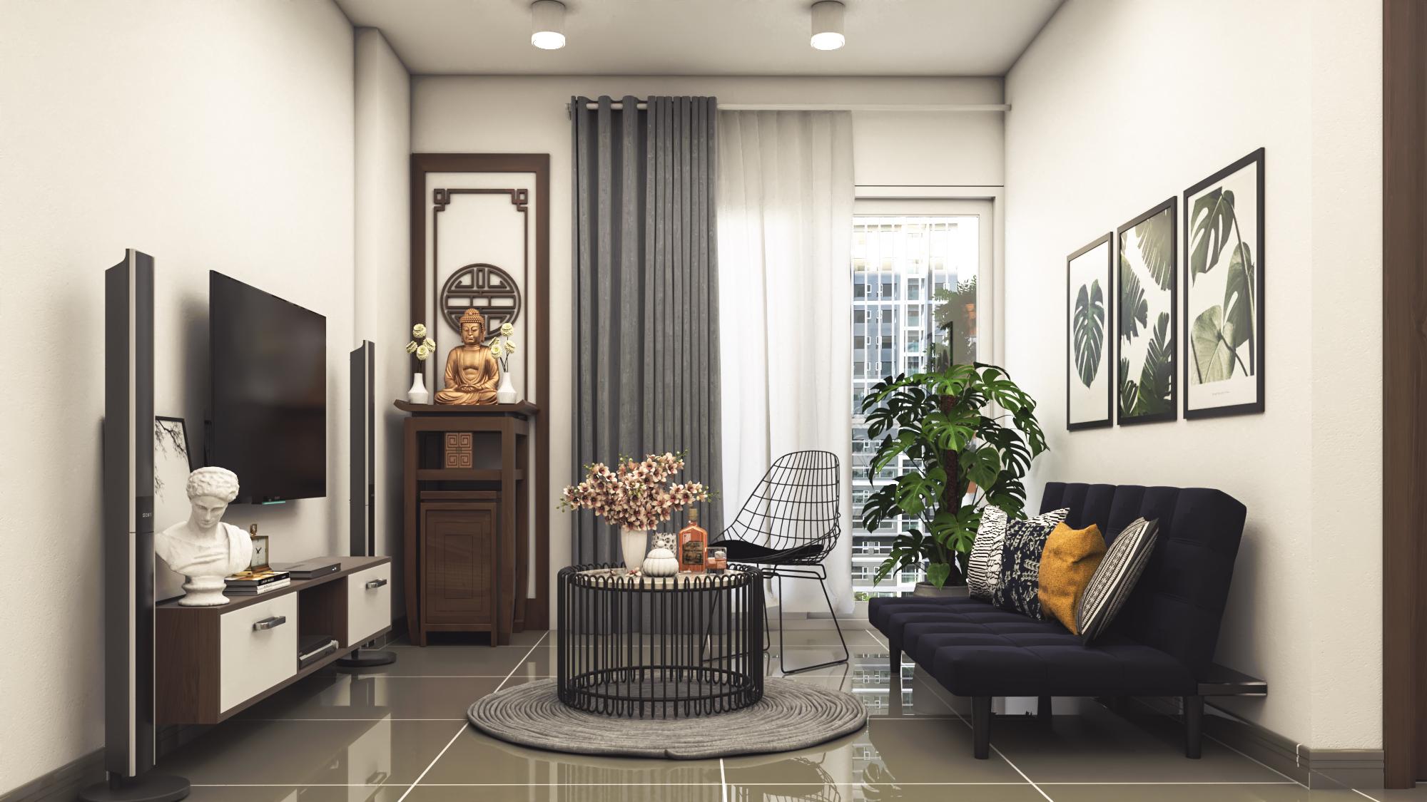 Thiết kế nội thất Chung Cư tại Hồ Chí Minh CĂN HỘ CHỊ TRÚC Q8 1576045381 13