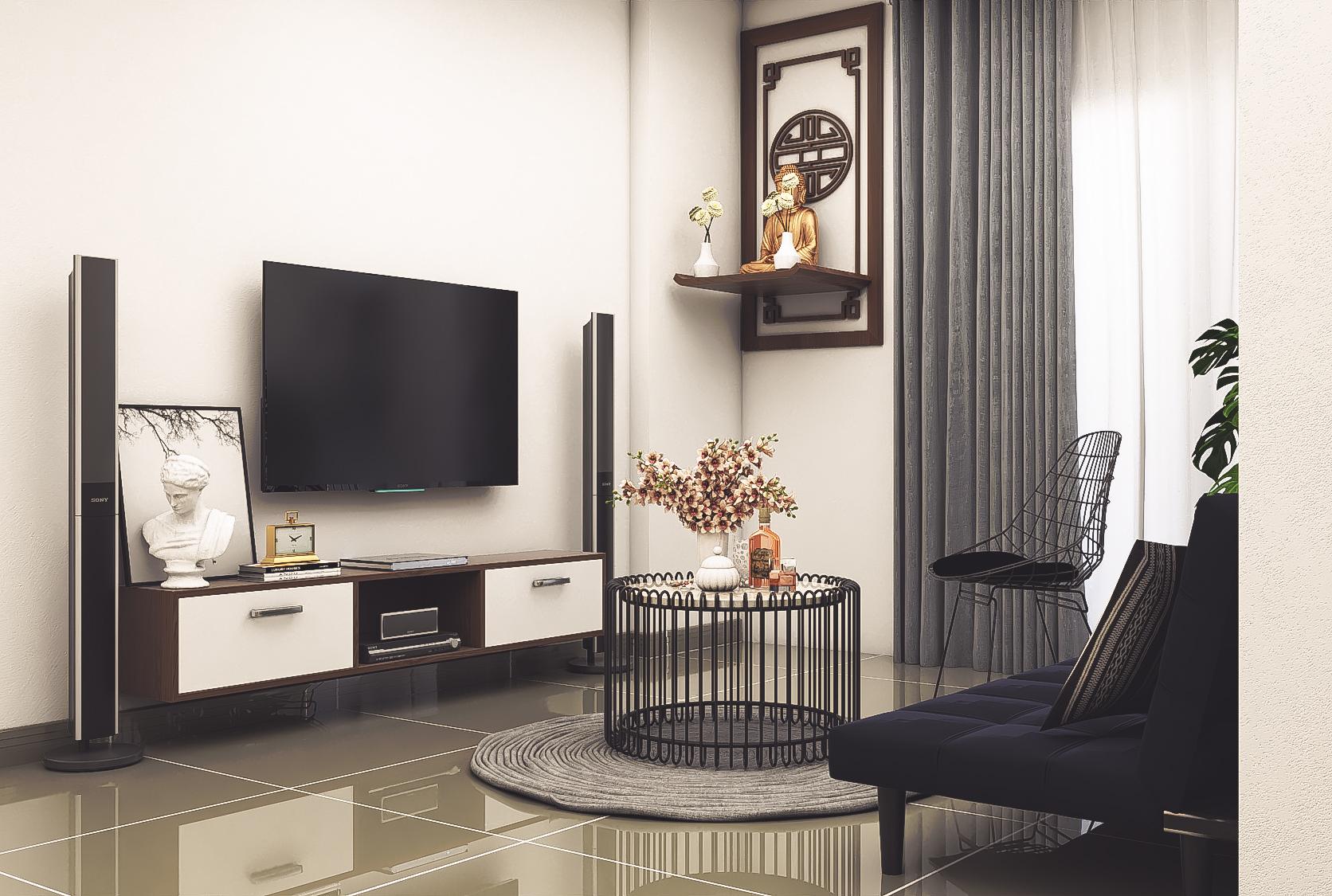 Thiết kế nội thất Chung Cư tại Hồ Chí Minh CĂN HỘ CHỊ TRÚC Q8 1576045381 20