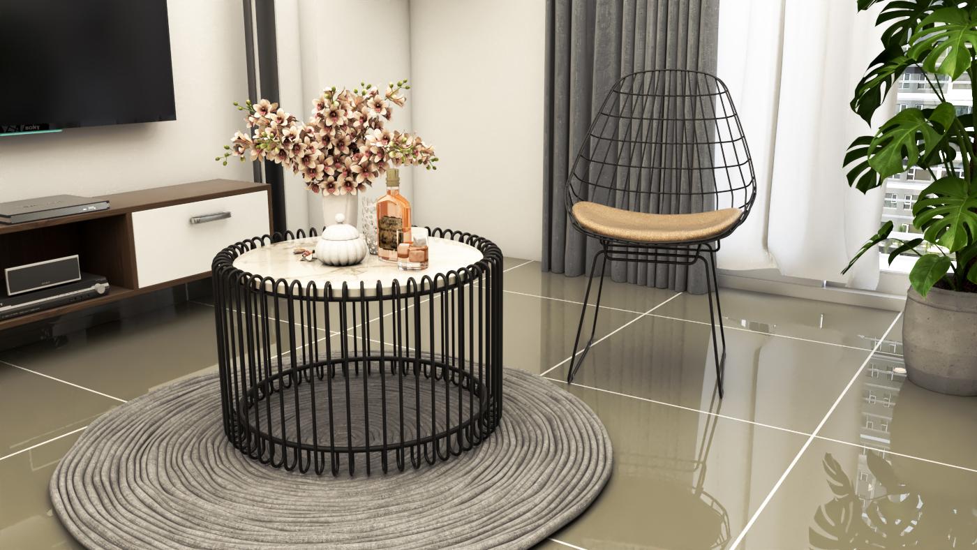 Thiết kế nội thất Chung Cư tại Hồ Chí Minh CĂN HỘ CHỊ TRÚC Q8 1576045381 25