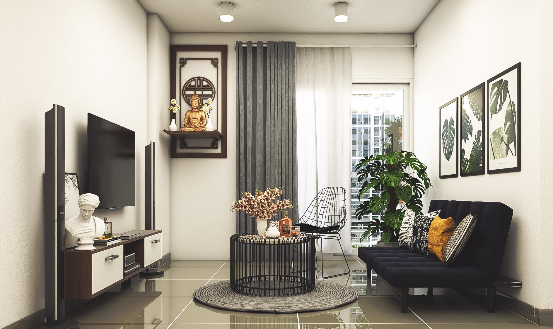 Thiết kế nội thất Chung Cư tại Hồ Chí Minh CĂN HỘ CHỊ TRÚC Q8 1576045382 19