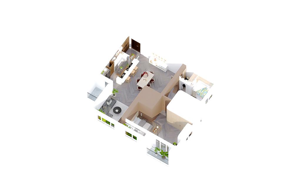 thiết kế nội thất chung cư tại Hồ Chí Minh Tropic Garden Apartment 20 1569316953