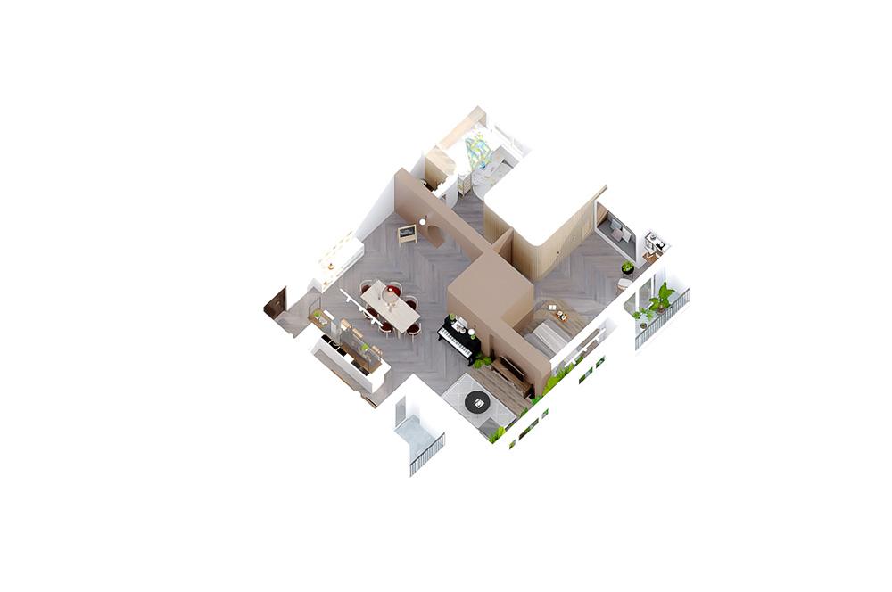 thiết kế nội thất chung cư tại Hồ Chí Minh Tropic Garden Apartment 21 1569316953